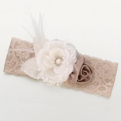 Vintage Floral Wedding Garter