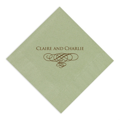 wedding flourish wedding napkins wedding napkins