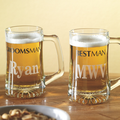 Wedding Gift Beer Mugs : ... like personalized groomsmen boot mug USD 29 95 mug with shot glass