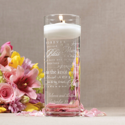 Wedding Words Unity Cylinder