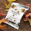 Personalized Autumn Themed Coffee Pack Wedding Favor